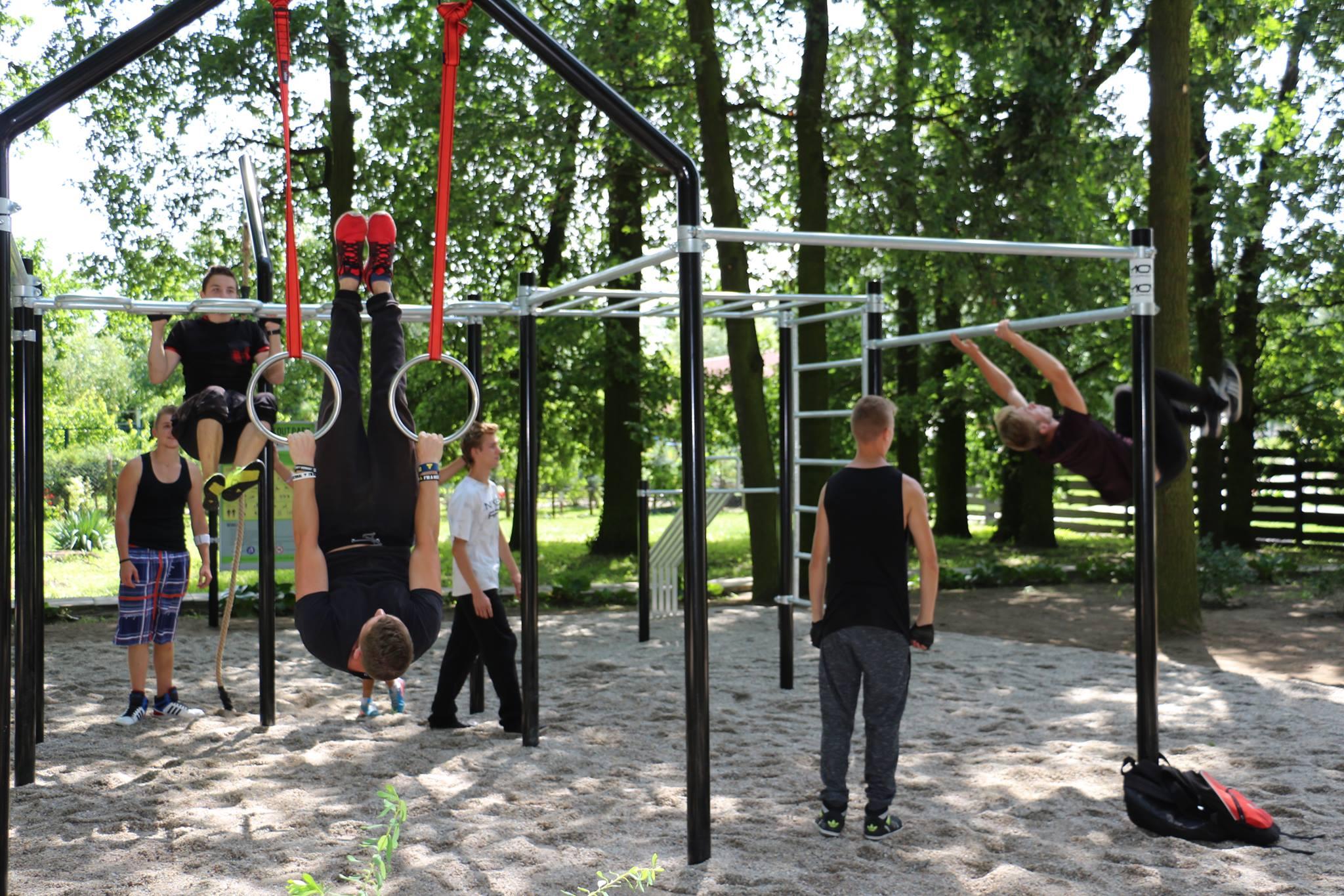 Otwarcie parku Street Workout w Nowej Soli (ZDJĘCIA/FILM)