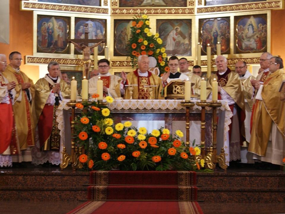 60-lecie święceń kapłańskich bpa Adama Dyczkowskiego