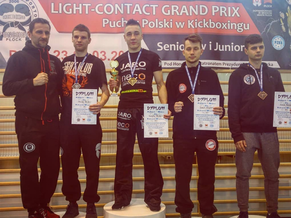 Wygrywamy na Grand Prix Light Contact Płock 2018!